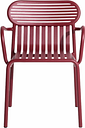 Petite Friture Week-end bridge chair, burgundy