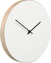 Muoto2 Kiekko wall clock, white