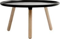 Normann Copenhagen Tablo table large, matt black