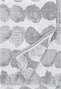 Lapuan Kankurit Sade giant towel, white - grey