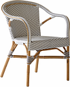 Sika-Design Madeleine armchair, white