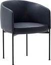 Adea Bonnet Dining chair, aniline leather