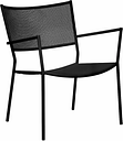 Massproductions Jig Mesh Easy chair, black