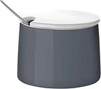 Stelton Emma sugar bowl, dark grey