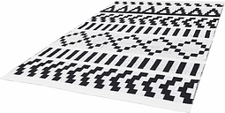 Forme Pikseli carpet, black-white