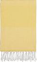 Langø Cotton towel 100 x 170 cm, yellow