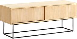 Woud Virka sideboard, low, oak