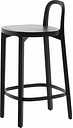 Woodnotes Siro+ bar stool 65 cm, black