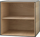 By Lassen Frame 49 box, oak