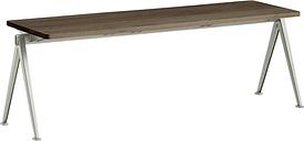 Hay Pyramid bench 11, beige - smoked oak