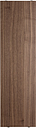 String Furniture String shelf 58 x 20 cm, 3-pack, walnut