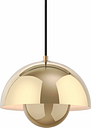 &Tradition Flowerpot VP1 pendant, polished brass