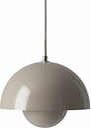 &Tradition Flowerpot VP1 pendant, grey beige