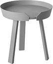 Muuto Around coffee table, small, grey