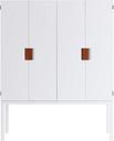 Asplund Frame TV cabinet, white