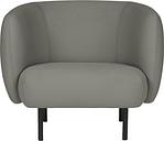 Warm Nordic Cape lounge chair, warm grey