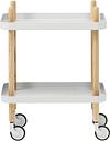 Normann Copenhagen Block table trolley, light grey