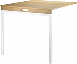 String Furniture String folding table, oak - white