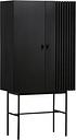 Woud Array highboard, black