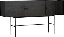 Woud Array sideboard 180 cm, black
