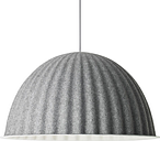 Muuto Under the Bell pendant 82 cm, grey