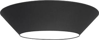 Lundia Halo ceiling light, large, black