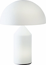 Oluce Atollo 235 table lamp, white