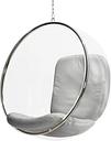 Eero Aarnio Originals Bubble Chair, silver