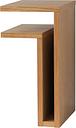 Maze F-shelf, left, oak