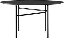 Menu Snaregade table round 138 cm, charcoal linoleum