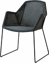 Cane-line Breeze dining chair, black