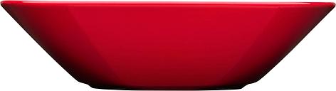 Iittala Teema deep plate 21 cm, red