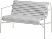 HAY Palissade Quilted cushion for dining bench, sky grey