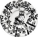 Iittala Taika plate 11 cm, black