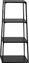 Hay Eiffel shelf, square, 4 layers, black