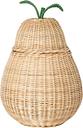 Ferm Living Pear braided basket