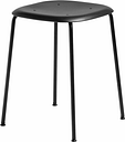 Hay Soft Edge P70 stool, black