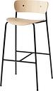 &Tradition Pavilion AV7 / AV9 bar stool, lacquered oak