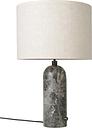 Gubi Gravity table lamp, large, grey marble