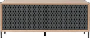 Harto Gabin sideboard 122 cm, oak - slate grey