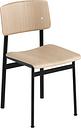 Muuto Loft chair, black - oak