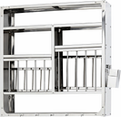Hay Indian Plate Rack, L