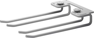 String Furniture String hanger rack 20 cm, 2-pack, grey