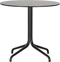 Vitra Belleville table, round, black