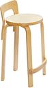 Artek Aalto high chair K65, birch