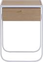 Asplund Nati Tati drawer, white stained oak - white