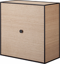 By Lassen Frame 42 box with door, oak