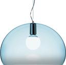 Kartell FL/Y pendant lamp, light blue