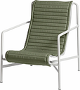 HAY Palissade Quilted cushion for high lounge chair high, olive