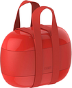 Alessi Food à porter lunch box, red